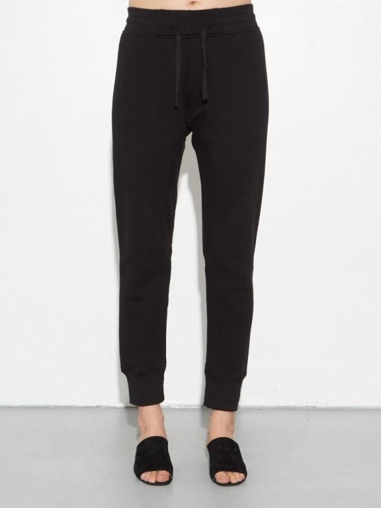 Slim Sweatpant in Black by Oak