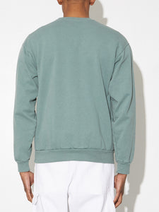 Oak Standard Crew Sweatshirt in Atlantic Green in Atlantic Green by Oak