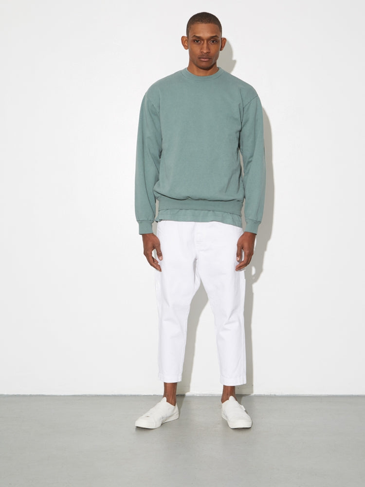 Load image into Gallery viewer, Oak Standard Crew Sweatshirt in Atlantic Green