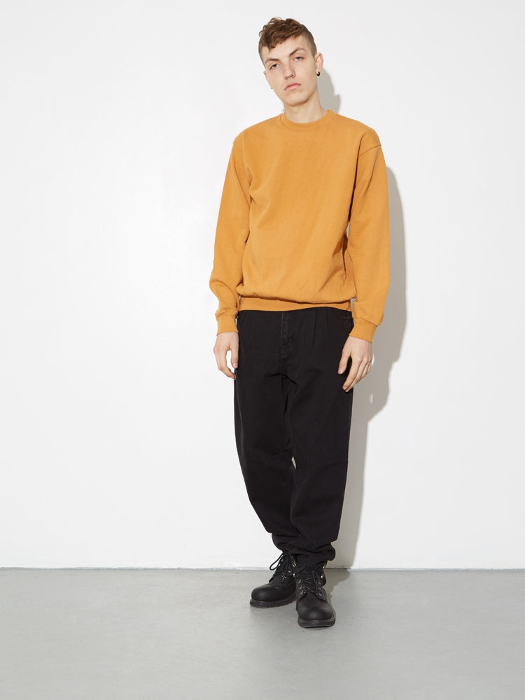 Oak Standard Crew Sweatshirt in Camel