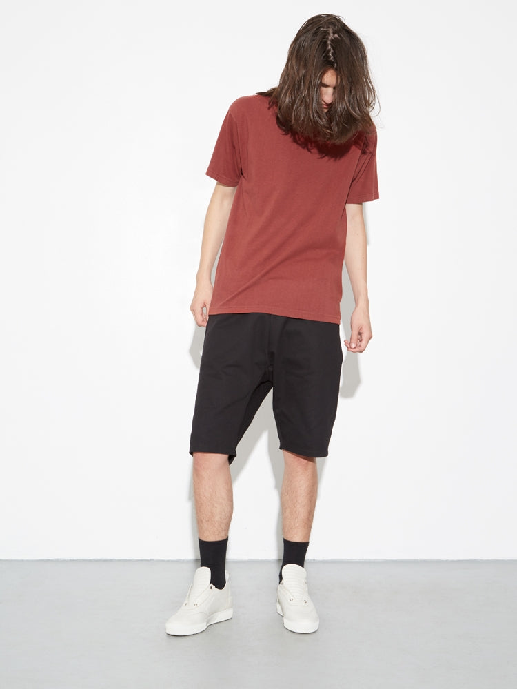 Standard Crew Tee in Brunt Orange by Oak in Burnt Orange by Oak