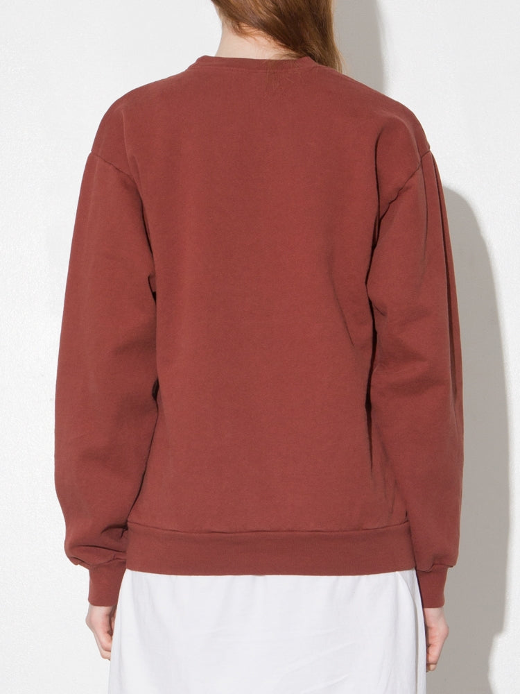 Load image into Gallery viewer, Oak Standard Crew Sweatshirt in Burnt Orange