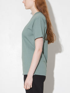 Standard Crew Tee in Atlantic Green by Oak in Atlantic Green by Oak