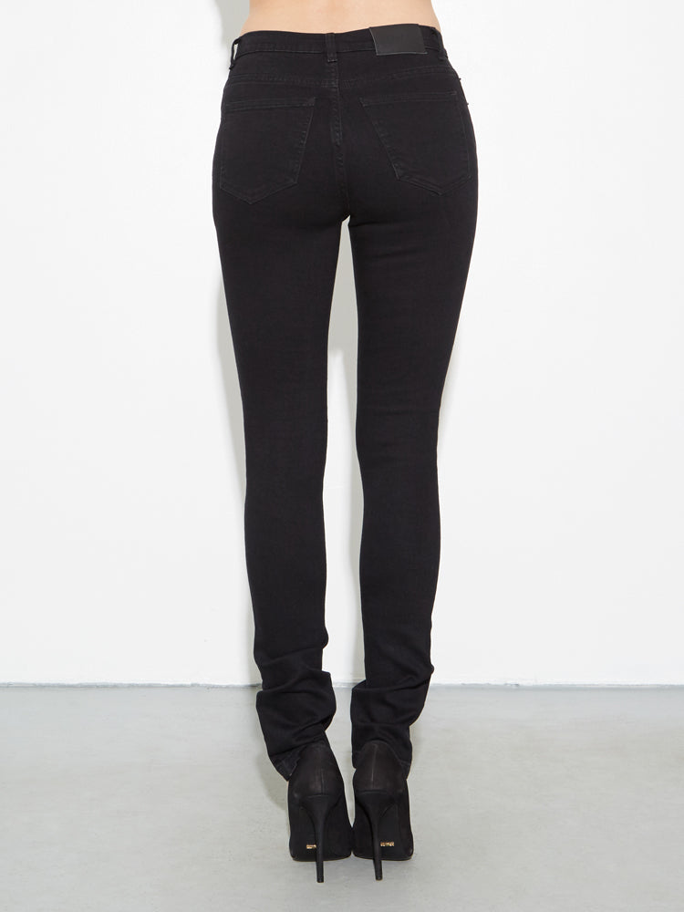 Load image into Gallery viewer, oak Standard Slim Jeans in Black