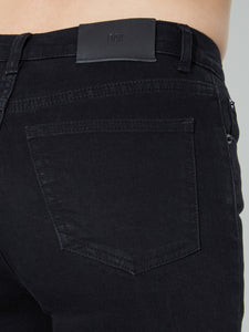 oak Standard Slim Jeans in Black in Black by Oak