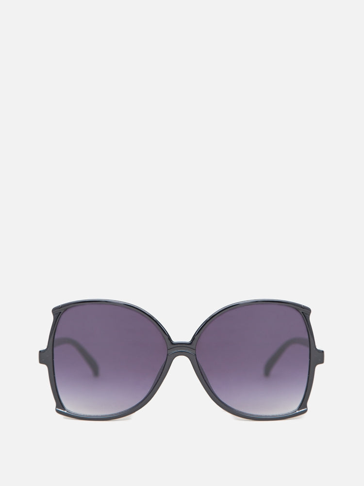 Aug Sunglasses in Black by A/OK