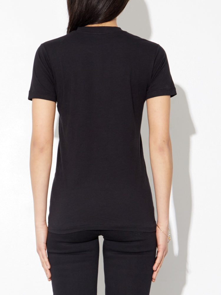 Load image into Gallery viewer, Oak Tight Crew Tee In Black