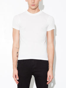 Oak Oversize V Tee in Chalk in Chalk by Oak