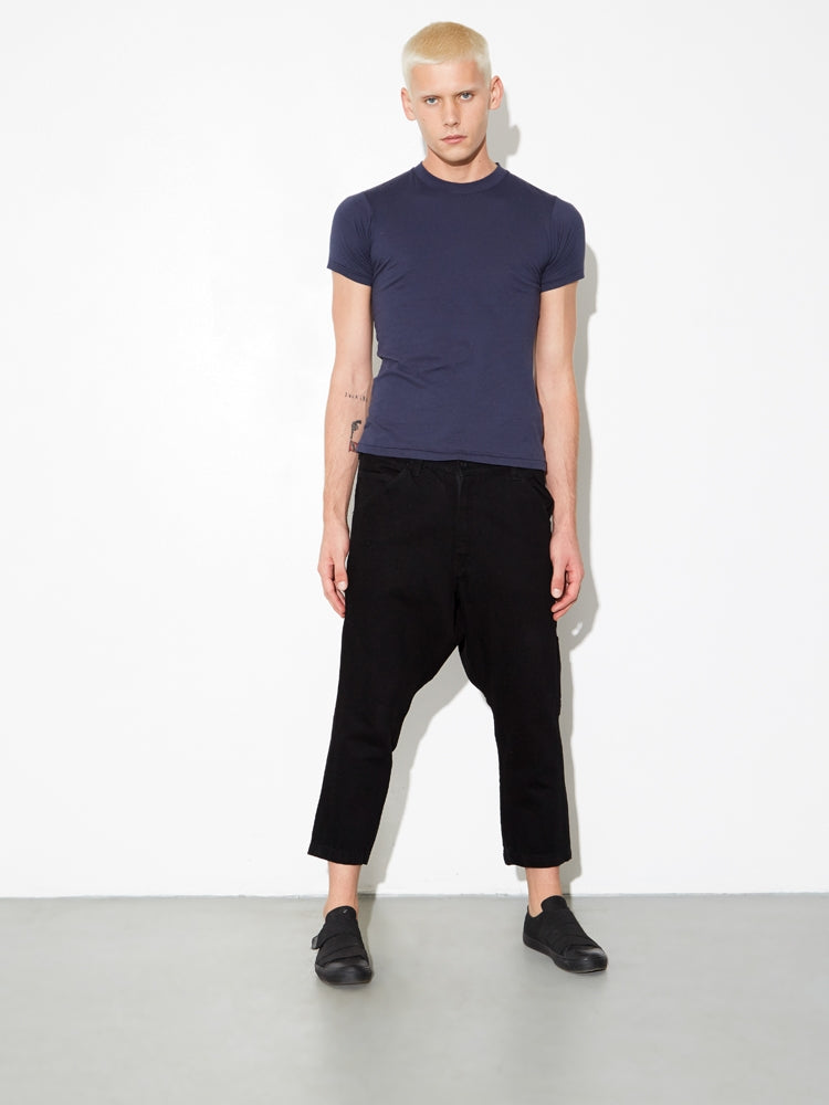 Load image into Gallery viewer, Oak Tight Crew Tee In Midnight