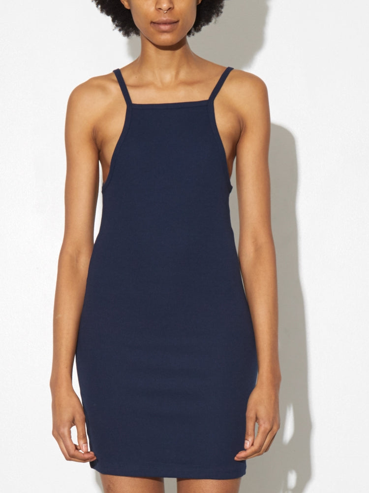 Load image into Gallery viewer, Tight Tank Dress in Midnight by A/OK