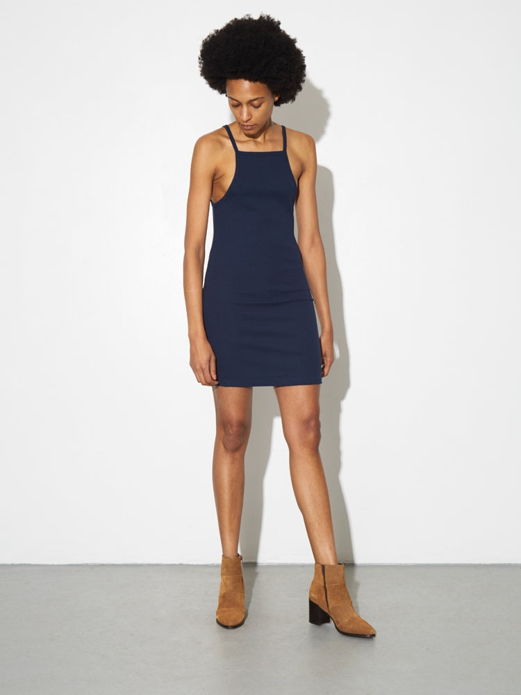 Tight Tank Dress in Midnight by A/OK