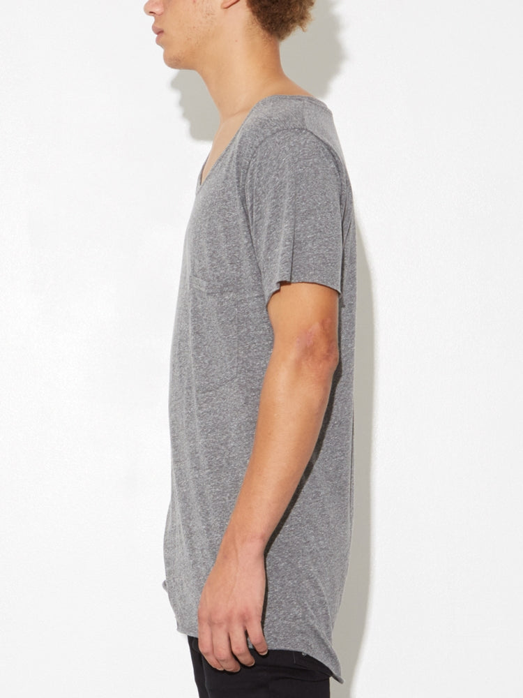 Load image into Gallery viewer, Oak Torque Tee in Heather Grey