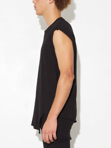 Twisted Muscle Tee in Black by Oak
