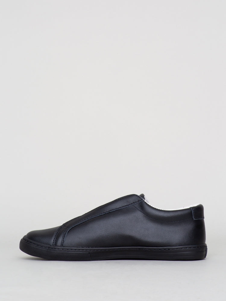 Load image into Gallery viewer, Oak Union Sneaker in Black Leather