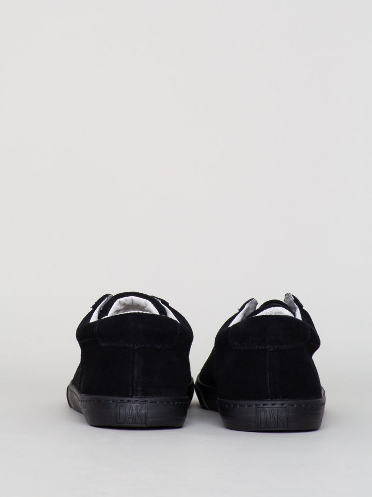 Load image into Gallery viewer, Oak Union Sneaker in Black Suede