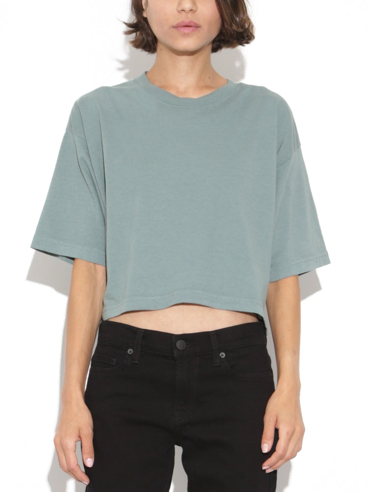 Oak Weldon Tee in Atlantic Green in Atlantic Green by Oak