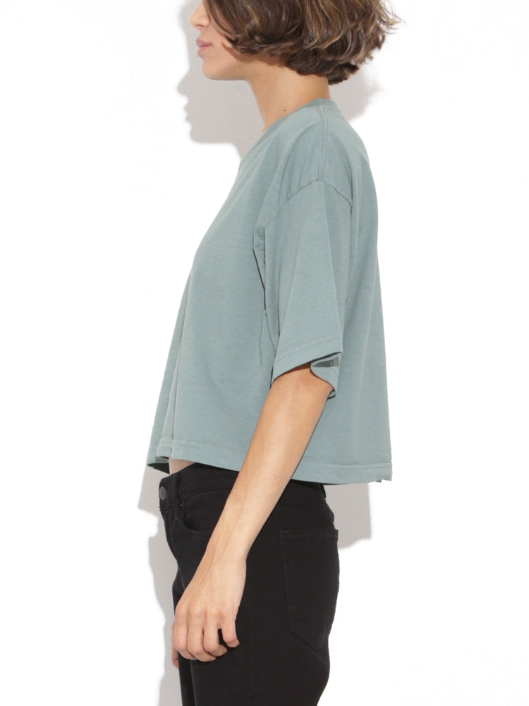 Load image into Gallery viewer, Oak Weldon Tee in Atlantic Green