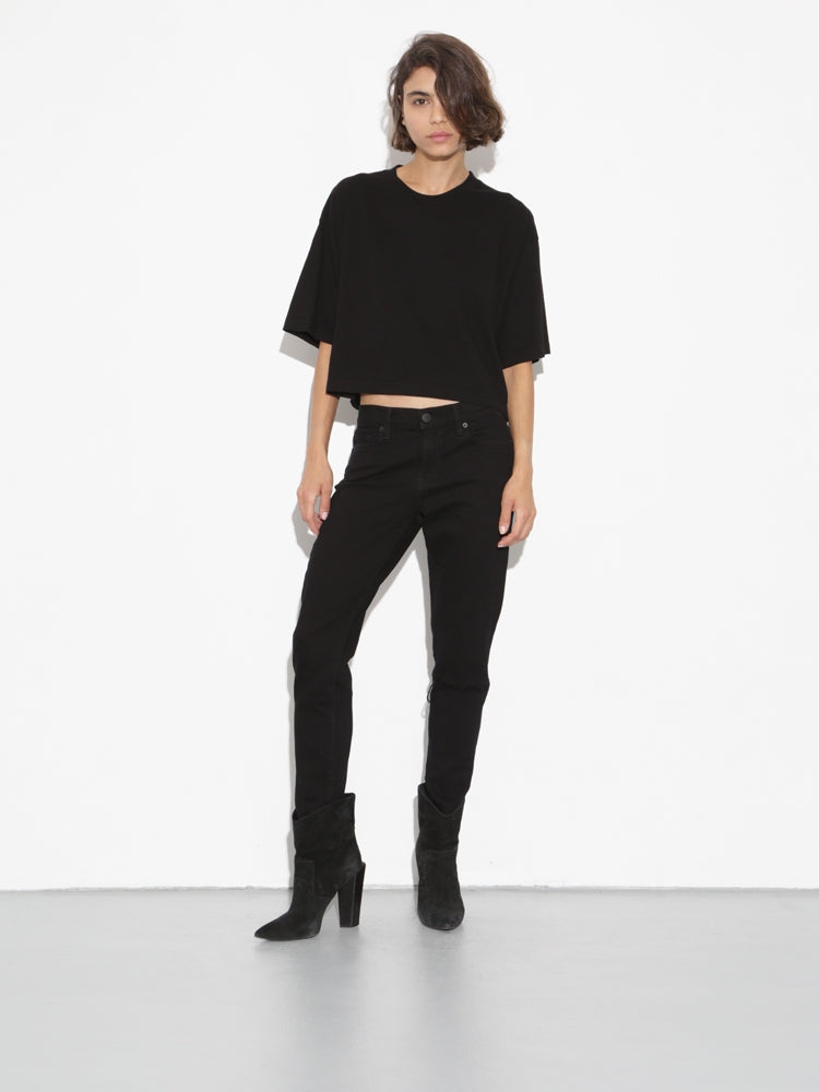 Oak Weldon Tee in Black in Black by Oak
