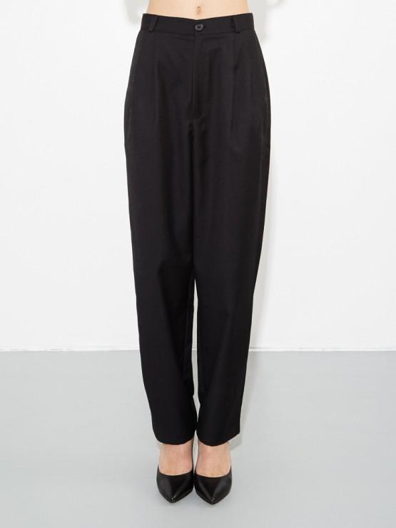 Quincy Pant in Black by Oak