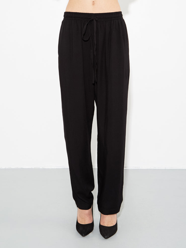 Oak Stagg Pant in Black in Black by Oak