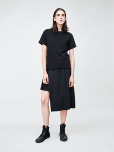 Short Sleeve Crew in Black by OAK