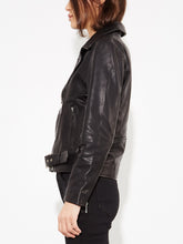 Load image into Gallery viewer, NY Racer Jacket in Black by Oak