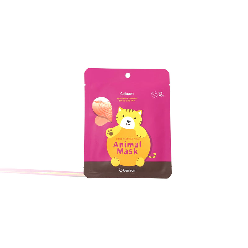 Berrisom Cat Animal Sheet Mask