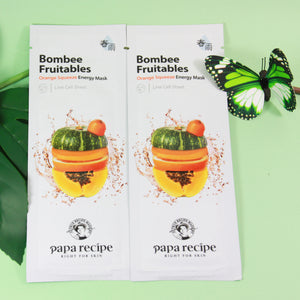 Papa Recípe Bombee Fruitables Orange Squeeze Energy Mask
