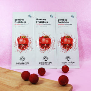 Papa Recípe Bombee Fruitables Red Squeeze Intensive Mask