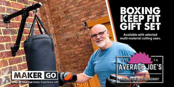 Boxing Keep Fit Kit by Average Joe's Joinery - Available from Evolution | Evolution Power Tools UK