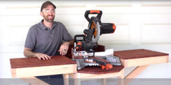 Building a Portable Mitre Saw Station by Specific Love Creations | Evolution Power Tools Ltd.