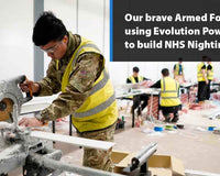 Frontline troops making a difference | Evolution Power Tools UK