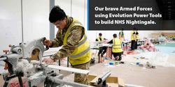Frontline troops making a difference with Evolution Power Tools | Evolution Power Tools Ltd.