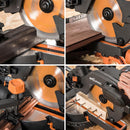 210mm Multi-Material Cutting 24T Blade - Evolution Power Tools