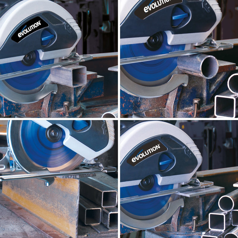 Evolution 230mm Mild Steel Cutting 48T Blade - Evolution Power Tools UK