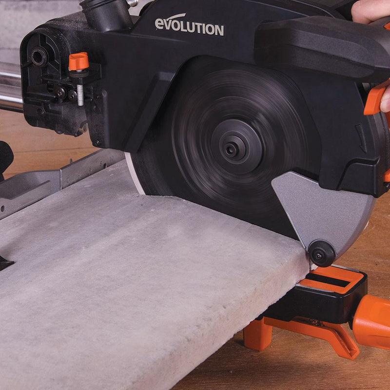 Evolution 255mm Diamond Blade - Evolution Power Tools UK