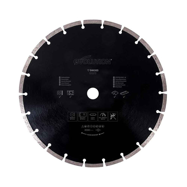 Evolution 305mm Diamond Blade - Evolution Power Tools UK