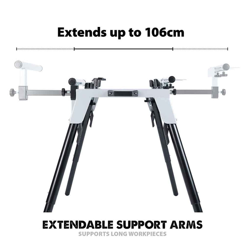 Evolution Chop Saw Stand With Universal Fittings - Evolution Power Tools UK