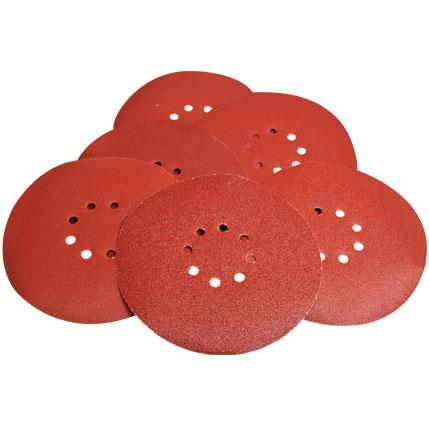 Dry Wall Sander Sanding Discs Pack (225mm Ø) 6 discs per pack - Evolution Power Tools Ltd.