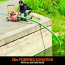 Evolution Evo-System 1000L/Min Dirty Water Pump Output - Evolution Power Tools