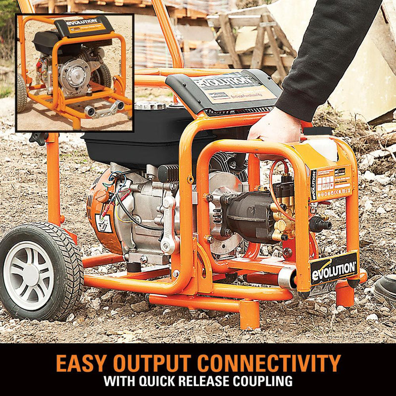 Evolution Evo-System 6.5HP (4-STROKE) Engine (EVO200) - Evolution Power Tools UK