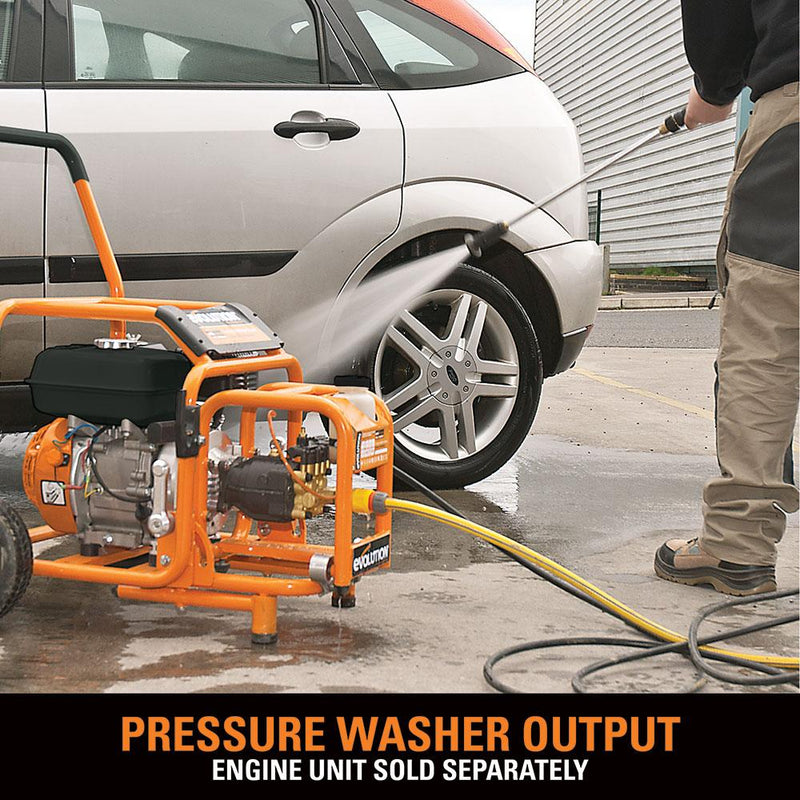 Evo System Pressure Washer Output - Evolution Power Tools