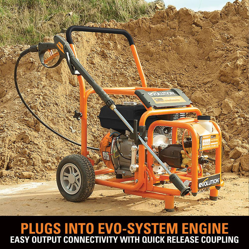 Evo System 175 Bar Pressure Washer Output - Evolution Power Tools