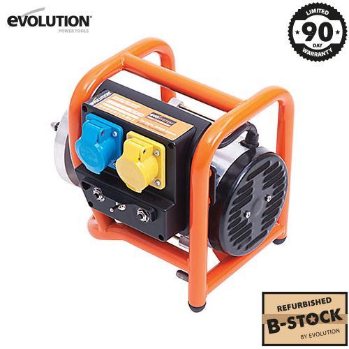 Evolution Evo-System Generator 1x 110V and 1x 230V (B-Stock) - Evolution Power Tools Ltd.