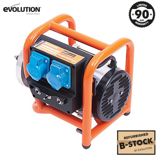 Evolution Evo-System Generator 2x 230V (Refurbished - Like New) - Evolution Power Tools