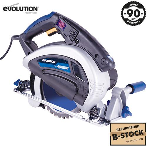 Evolution EVOSAW180Xtreme 180mm Circular Saw (B-Stock) - Evolution Power Tools Ltd.