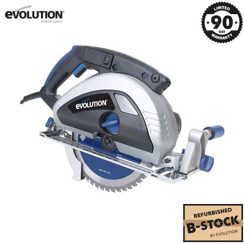 Evolution EVOSAW230 230mm Circular Saw (B-Stock) - Evolution Power Tools Ltd.