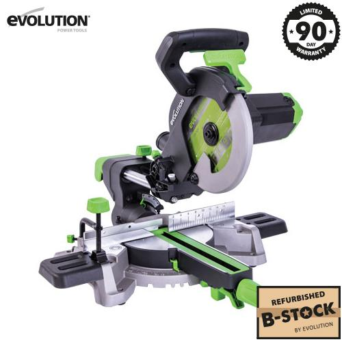 Evolution F210SMS 210mm Sliding Mitre Saw (B-Stock) - Evolution Power Tools Ltd.