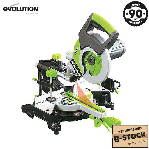 Evolution FURY3 Sliding Mitre Saw (B-Stock) - Evolution Power Tools Ltd.