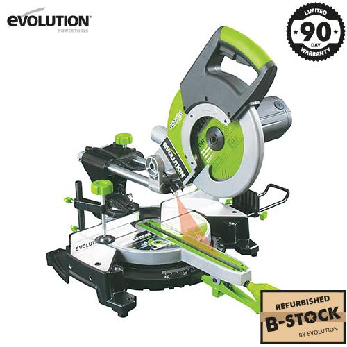 Evolution FURY3-XL Sliding Mitre Saw (B-Stock) - Evolution Power Tools Ltd.